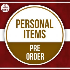 10th March Signing - Personal Items - Pre Order